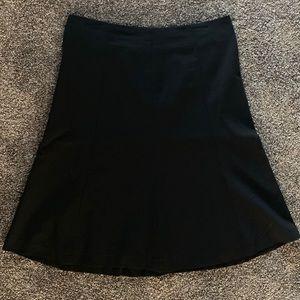 GAP Black A-Line Skirt